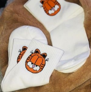 Garfield socks 🧡